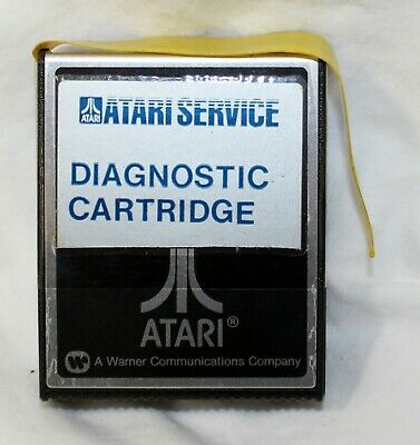 Vintage Atari Service Center Diagnostic Cartridge 810 FD100006