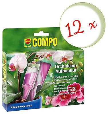Savings Set: 12 X Compo Orchideen-Aufbaukur, 5 x 30 ML