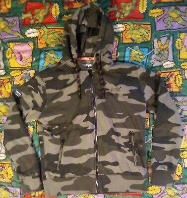 Superdry Men's Orange Label Urban Zip Up Camo Hoodie Hooded Sweatshirt Sz XXL