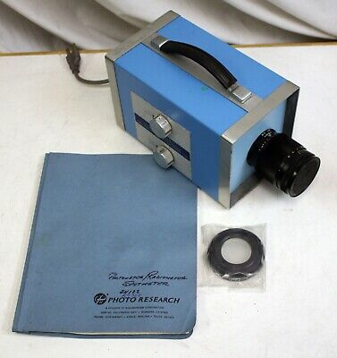 Photo Research Spectraspot Photometer With Cr-100 Cosine Receptor. 1600 Series