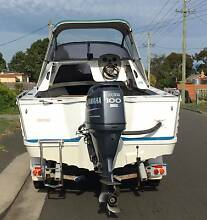 Stacer 5.25 metre Cuddy Cab Lauderdale Clarence Area Preview