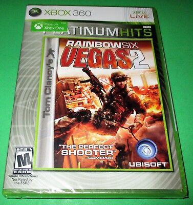 Tom Clancy's Rainbow Six: Vegas 2 Xbox 360 *Plays On Xbox One! *New! *Free (Xbox One S Play Xbox 360 Games)