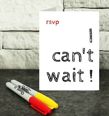 reply card - RSVP card - wedding acceptance card - party acceptance card - rsvp  Wedding Reply Card
