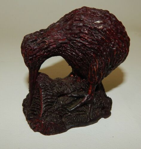 Parua Studios Hand Crafted Kiwi Bird Figurine - Australia Souvenir
