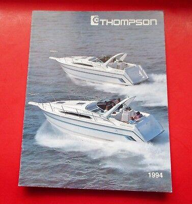 1994 THOMPSON BOAT SALES BROCHURE/CATALOG