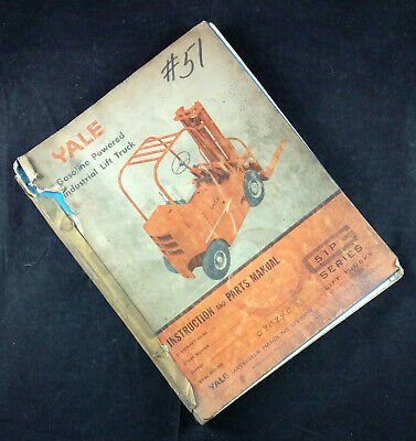 Heavy Equipment Manuals & Books 520371753 Yale Forklift Parts ...