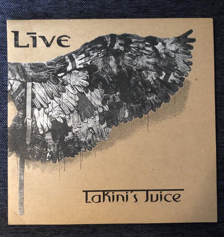 "LIVE Autographed Lakini's Juice 10"" Vinyl Promotional Single"