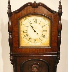 vintage RESTORED CROSLEY 67 GRANDFATHER CLOCK / RADIO - Good Working Clock & AM