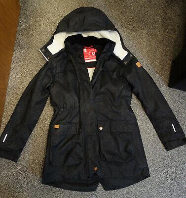 Reima Winterjacke für Kinder Gr. 164 wie neu Dunkelblau/schwarz