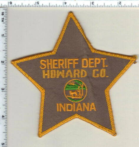 Howard County Sheriff Dept. (Indiana) uniform take-off Shoulder Patch from 1987
