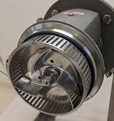 Inline High Shear Mixer 10 Hp Emulsifier Homogenizer 250 Gpm Max Blender