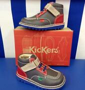 Boys Velcro Kickers