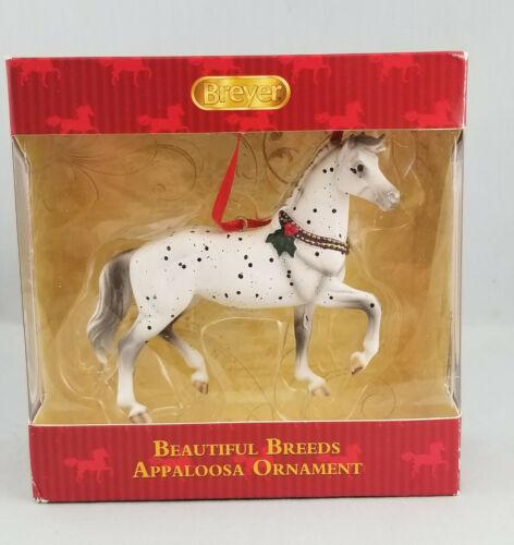 Breyer 700514 Appaloosa Beautiful Breeds Horse Holiday Christmas Ornament - NWB