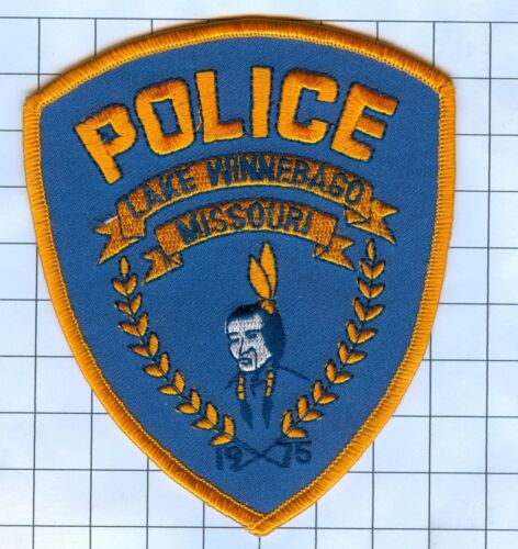 Police Patch  - Missouri - Lake Winnebago