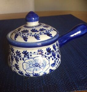 Blue and White Pan Ardross Melville Area Preview