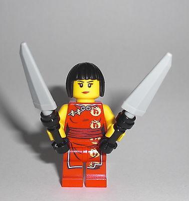 LEGO Ninjago - Nya - Minifig Figur Samukai Garmadon Tempel Ninja Nia 2505 2507 - Nia Ninjago