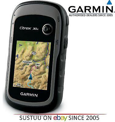 Garmin Etrex 30X Gps Outdoor Hiking Walking Handheld Gps With Worldwide Base Map