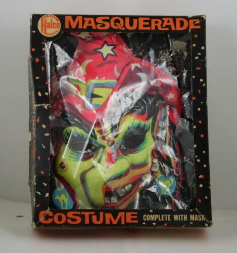 Vintage Halco Witch Halloween Masquerade Costume in Original Box