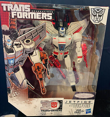 TRANSFORMERS GENERATIONS 30TH ANNIVERSARY JETFIRE LEADER CLASS NEW SEALED