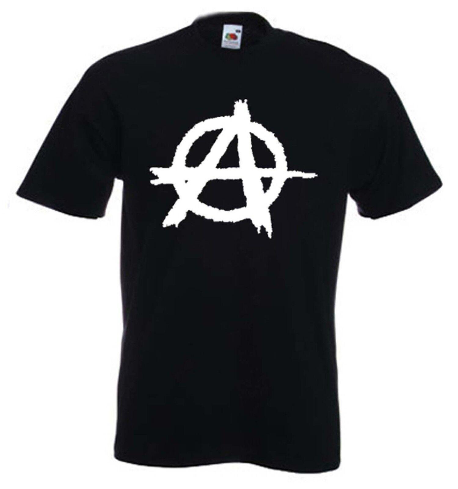 Anarchy Symbol T Shirt Punk Sex Pistols Anarchism Anarchist Size
