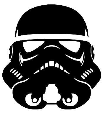 Star Wars Stormtrooper Vinyl Decal 12 Colours 4 Sizes Wall Window Laptop Sticker