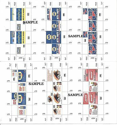 6 Part Boxes Set #5 - UNASSEMBLED - for your shop/garage/diorama - 1/18 scale