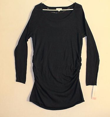 Liz Lang Maternity Long Sleeve Knit Sweater Woman's Size 2XL Dark Blue