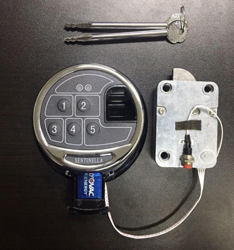 Biometric Fingerprint Keypad Digital Safe Lock For Gun Safe Vault Build Your Own