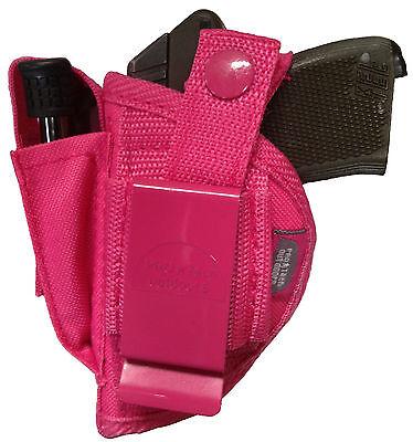 Pink Gun holster fits Beretta Bobcat or Tomcat use left or right hand WSB-1P