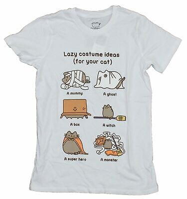 Costumes For Your Cat (Pusheen Girls Juniors T-Shirt -  Lazy Costume Ideas For your)