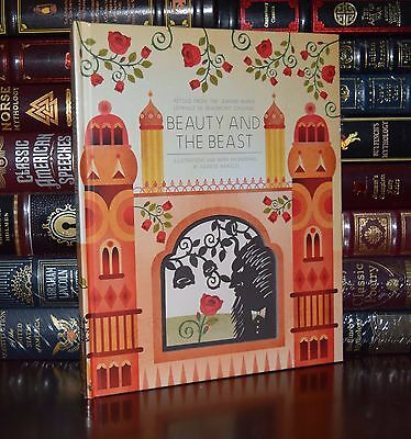 Beauty and the Beast  3D Cut Pop-up Illustrated Hardcover Sealed Gift Edition