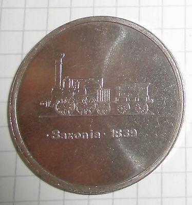 """medaille reichsbahnausbesserungs werk """" hermann matern """" cottbus  saxonia 1839"""