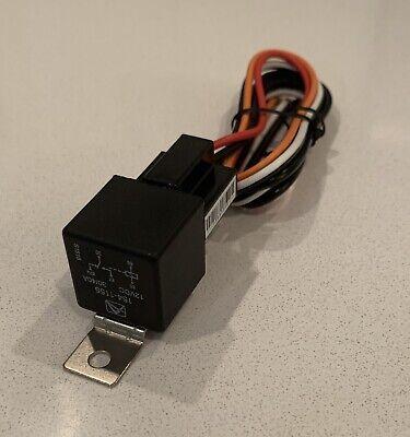 1 12 Volt Premium Spdt Relay Socket Car Alarm 40 Amp 40a 12v Automotive