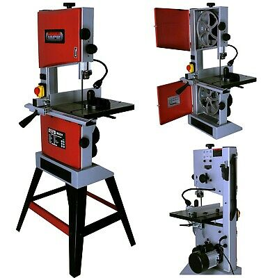 10 Professional Woodworking Bandsaw With Cast Table Solid Fence Blade 240v