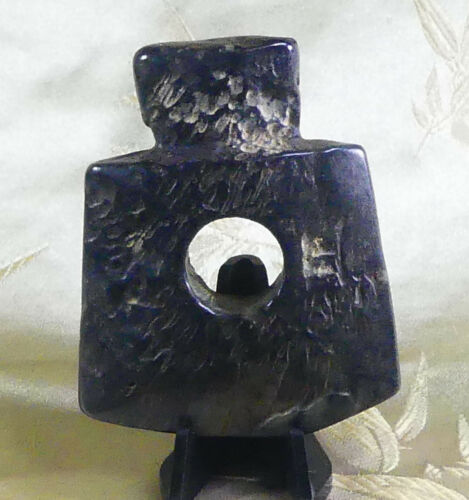 X-RARE Chinese Immortality Jade Axe! Hongshan with Pictographs & Translation!!