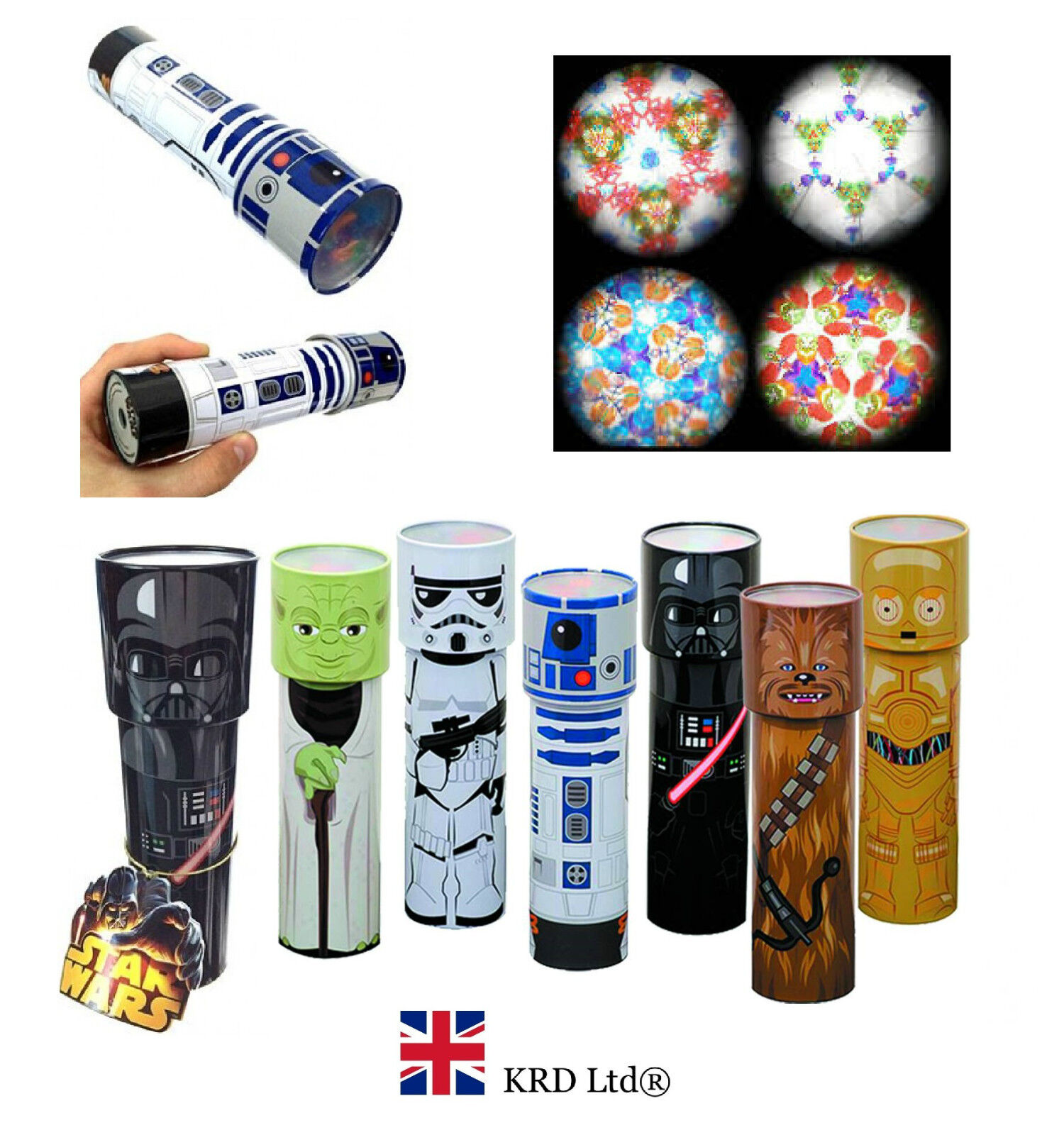 Star Wars Characters Toys : Star wars character kaleidoscope toys kids birthday gift