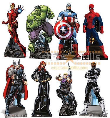 OFFICIAL Marvel The Avengers Super Hero LIFESIZE CARDBOARD CUTOUT Standup Comic](Superhero Cardboard Standups)