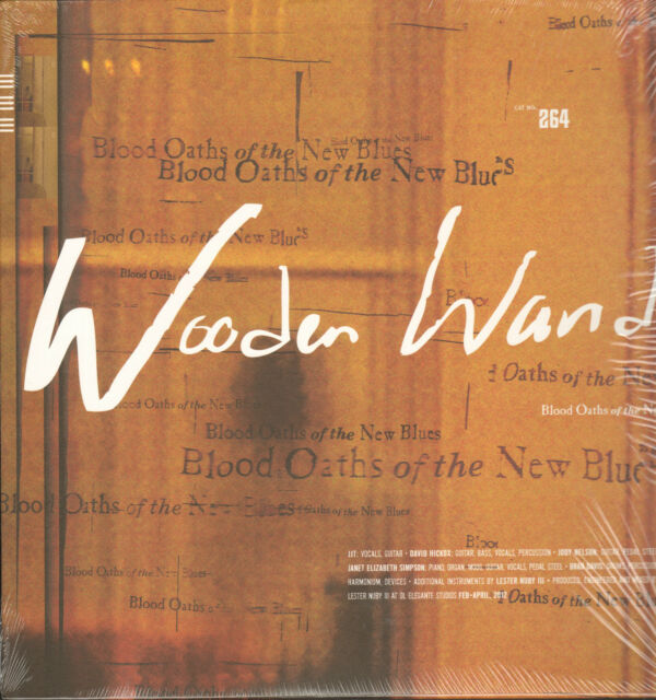 WOODEN WAND - Blood Oaths of The New Blues  LP   !!! NEU !!! 809236126412