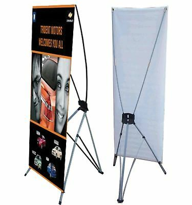 5 Pcs X Banner Stand 24 X 63 Bag Trade Show Display Advertising X Stand Ghr