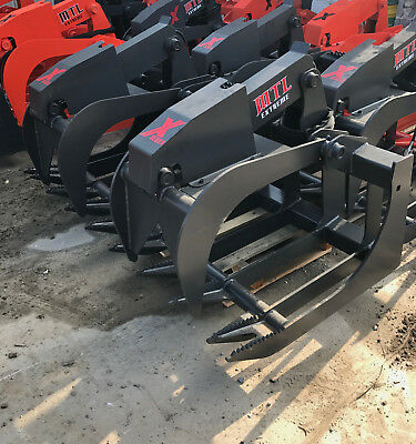 Mtl Attachment X-series 80 Root Grapple Bucket Skid Steer Takeuchi-cat-179 Ship