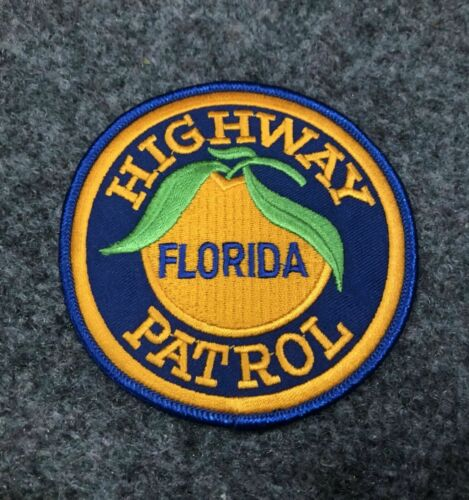 Florida Highway Patrol police patch FL FHP Trooper