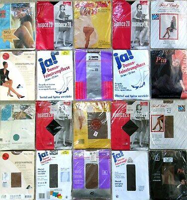 10 x STRUMPFHOSEN - TIGHTS - ESDA - FIRST LADY - VINTAGE - OVP - GR. 52 - 54 online kaufen