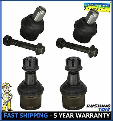 New Upper & Lower Ball Joints 4Pc Set Fits Ford E-150 E-250 E-350 Econoline Club