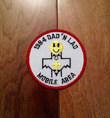 Vintage 1984 Dad N Lad Mobile Area Boy Scout Patch