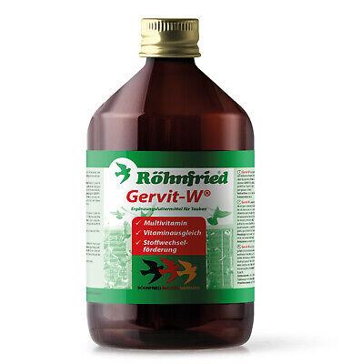 Rohnfried Gervit 500ML Multi Vitamins Gervit W Racing Pigeons BMFD