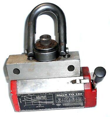 Tecnomagnete Maxx Tg 150 Lifting Magnet - 330 Lb. Cap 7-12 In.