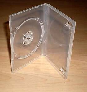 10 mini cd dvd h llen durchsichtig transparent 12 5 x 9 cm box case h lle neu ebay. Black Bedroom Furniture Sets. Home Design Ideas