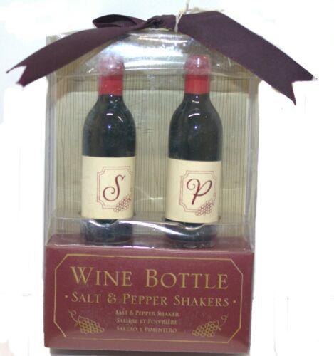 Kate Aspen Wine Bottle Salt & Pepper Shakers