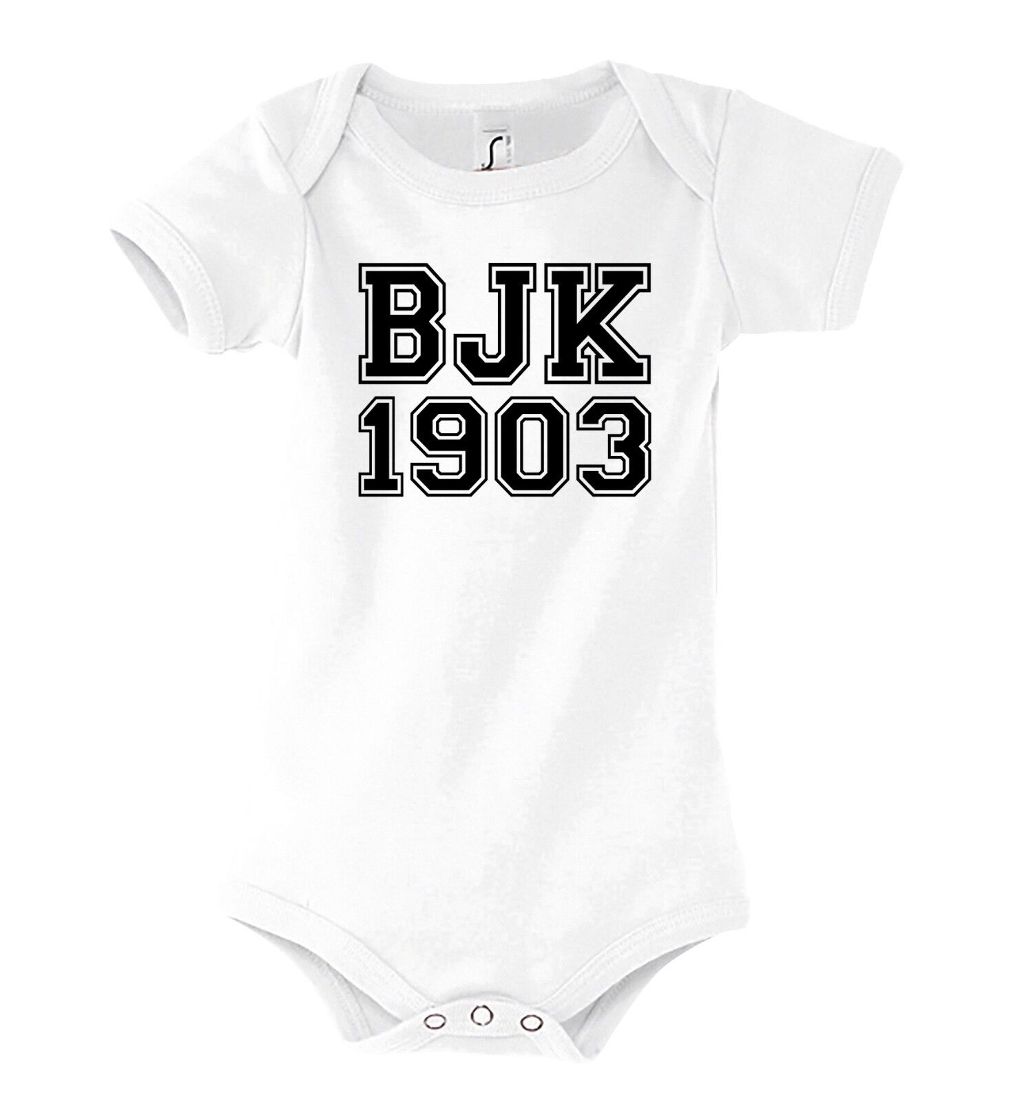TRVPPY Baby Body Strampler Besiktas Fußball Sport Kinder Shirt