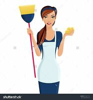 Your trustworthy cleaning lady.